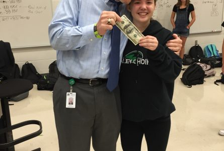 Congratulations to MADI DUCE for pulling the $100 bill for our Great American Fundraiser!!
